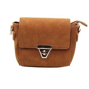 Elegant brown classic scrubs purse